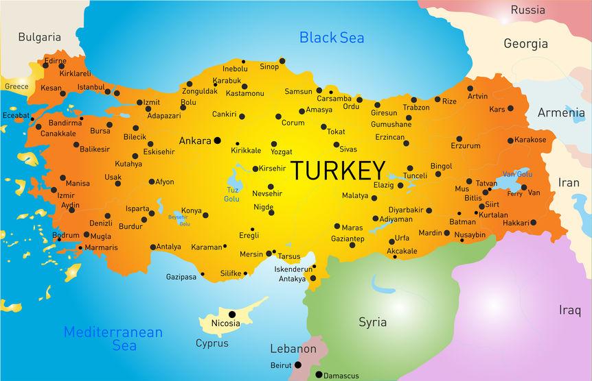 أسماء محافظات تركيا و أشهر مدنها تركيا للعرب