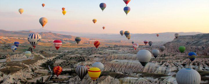 منطقة كابادوكيا و المنطاد فى تركيا