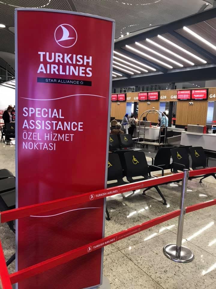 خدمة المساعدة الخاصة المجانية فى مطار اسطنبول الجديد