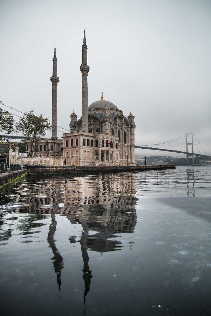 منطقة أورتاكوى فى اسطنبول