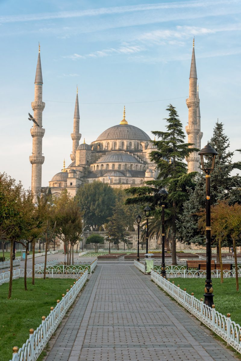 The famous Blue Mosque in Istanbul